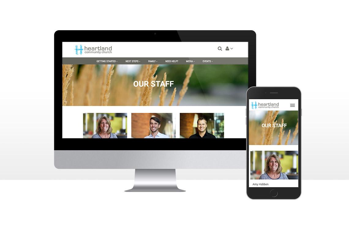 Website for Heartland Community Church